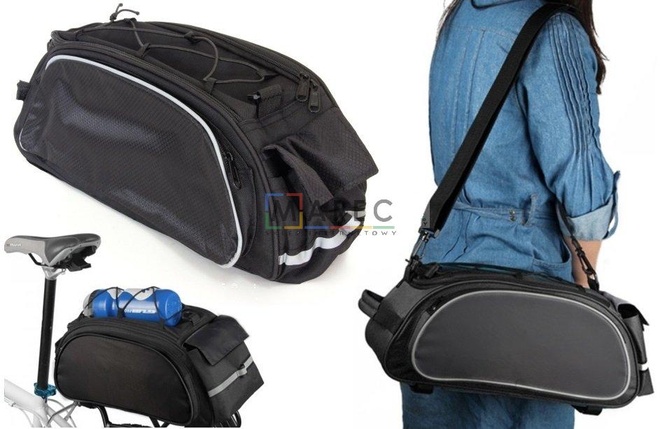 8039cf4884dea Sport i Turystyka : Torba torebka na rower bagażnik sakwa na ramię