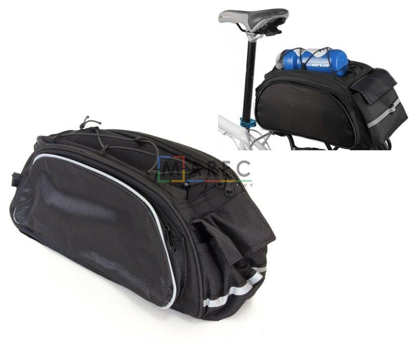 a0a00a7c2b774e Sport i Turystyka : Torba torebka na rower bagażnik sakwa na ramię
